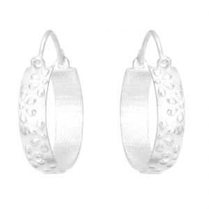 92.5 Sterling Silver Classic Hoops